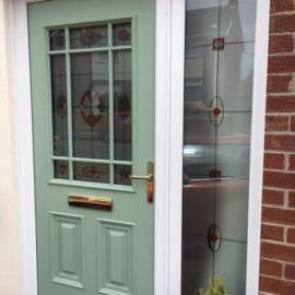 Chartwell Green Composite Door