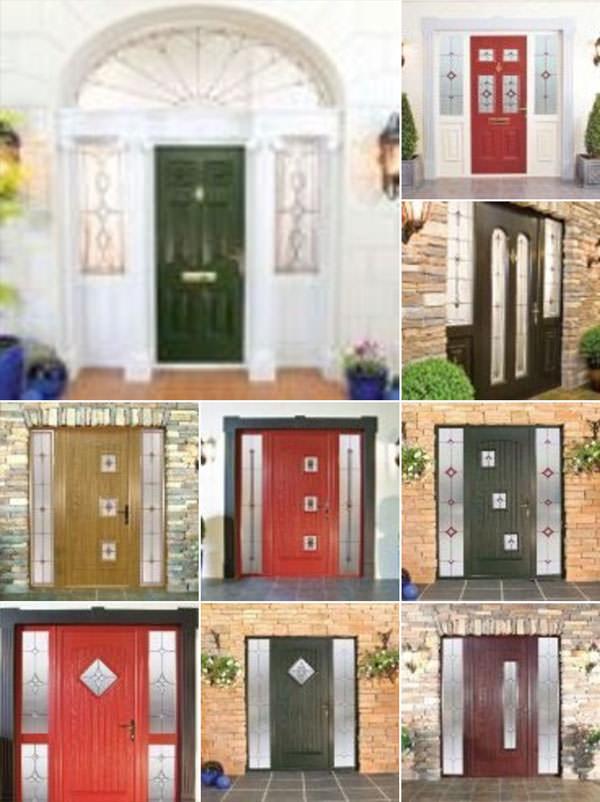 Composite doors options