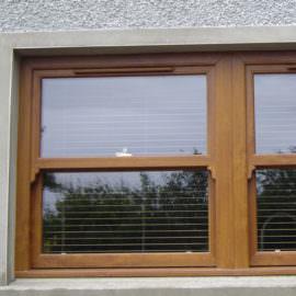 Mahogany Vertical sliding sash windows